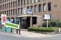 守口市医師会・秋山医院へ地下鉄谷町線守口駅からのアクセス1