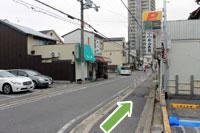 守口市医師会・秋山医院へ地下鉄谷町線守口駅からのアクセス7
