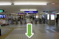 守口市医師会・秋山医院へ京阪本線守口市駅からのアクセス1