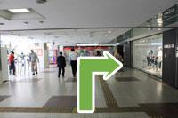 守口市医師会・秋山医院へ京阪本線守口市駅からのアクセス3