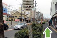 守口市医師会・秋山医院へ京阪本線守口市駅からのアクセス5