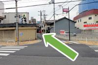 守口市医師会・秋山医院へ京阪本線守口市駅からのアクセス6