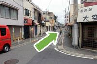 守口市医師会・秋山医院へ京阪本線守口市駅からのアクセス7